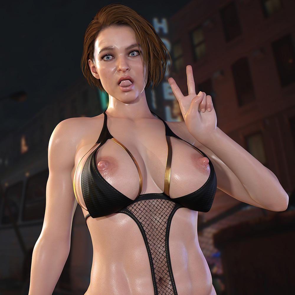 Jill Valentine - Bikini