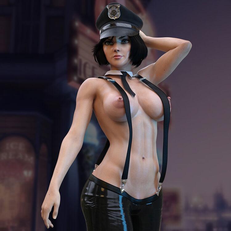 Elizabeth - Cop Bioshock