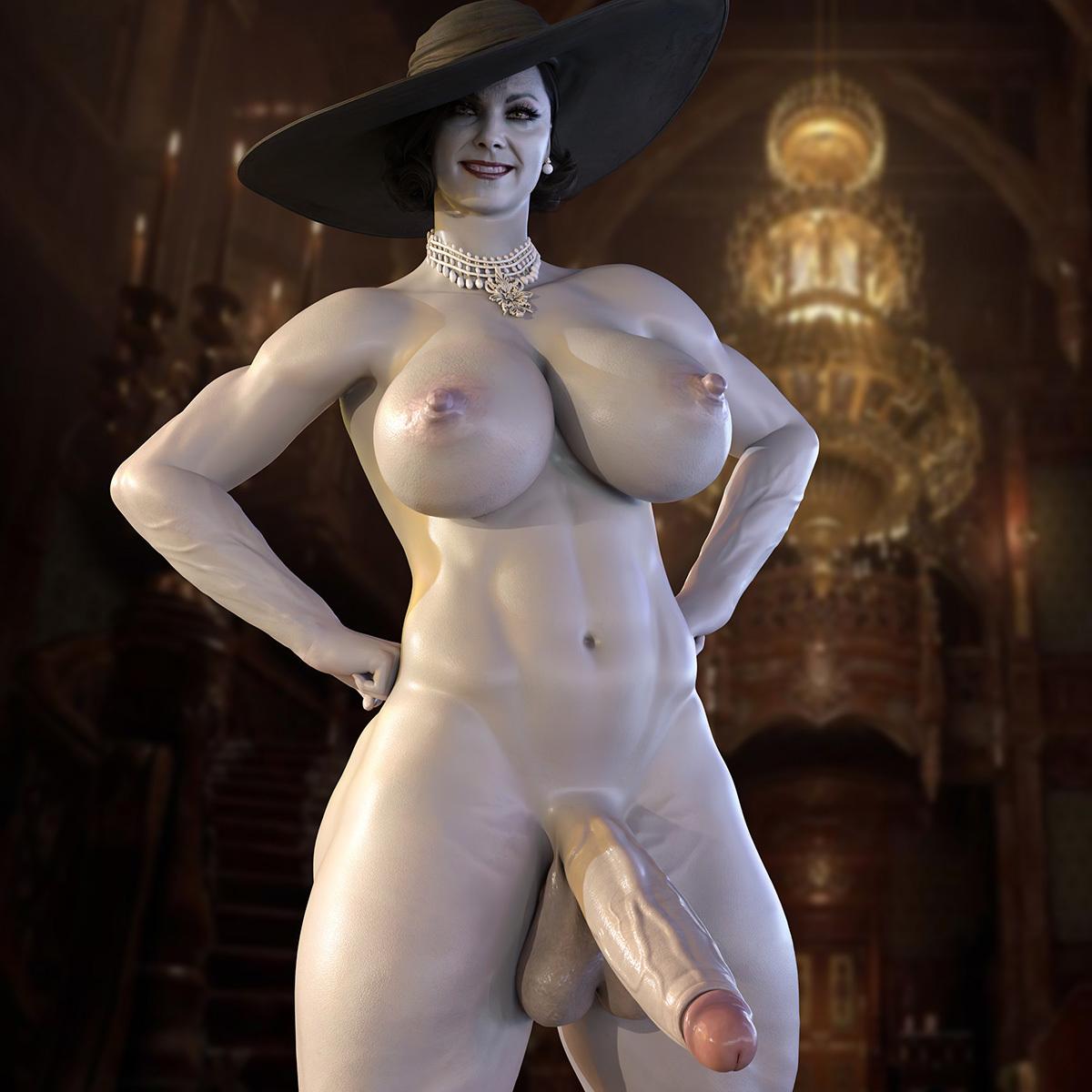 Lady Dimitrescu - Futa