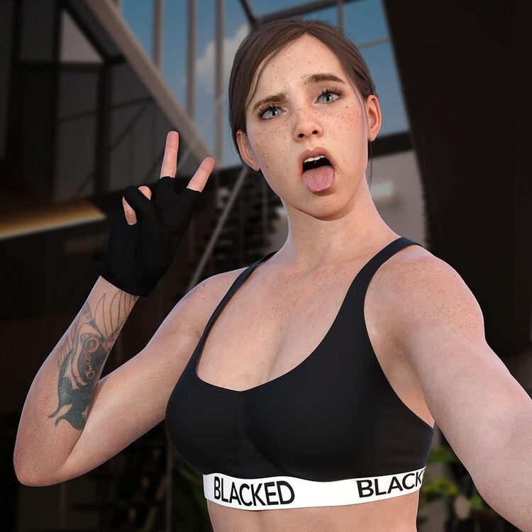 Ellie - Blacked