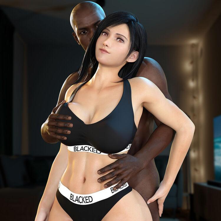 Tifa Lockhart - Blacked
