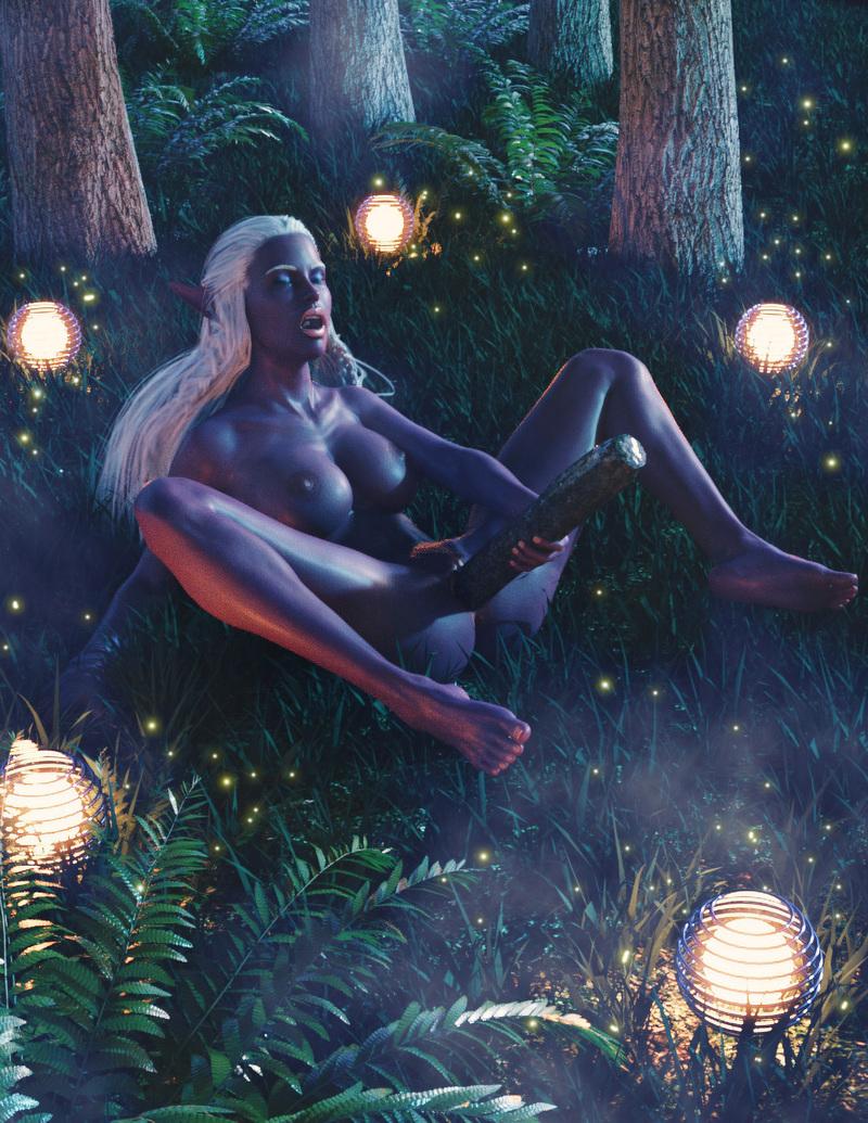 Dark Elf, Pleasure In The Woods.