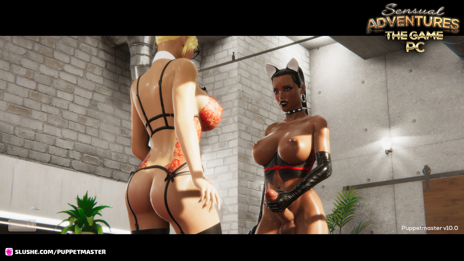 """First Screenshots of """"Sensual Adventures - The Game PC"""""""