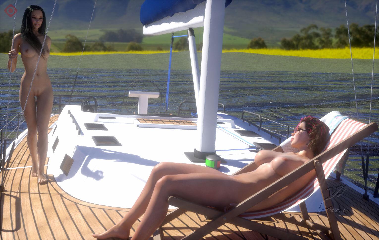 Holidays on a Yacht