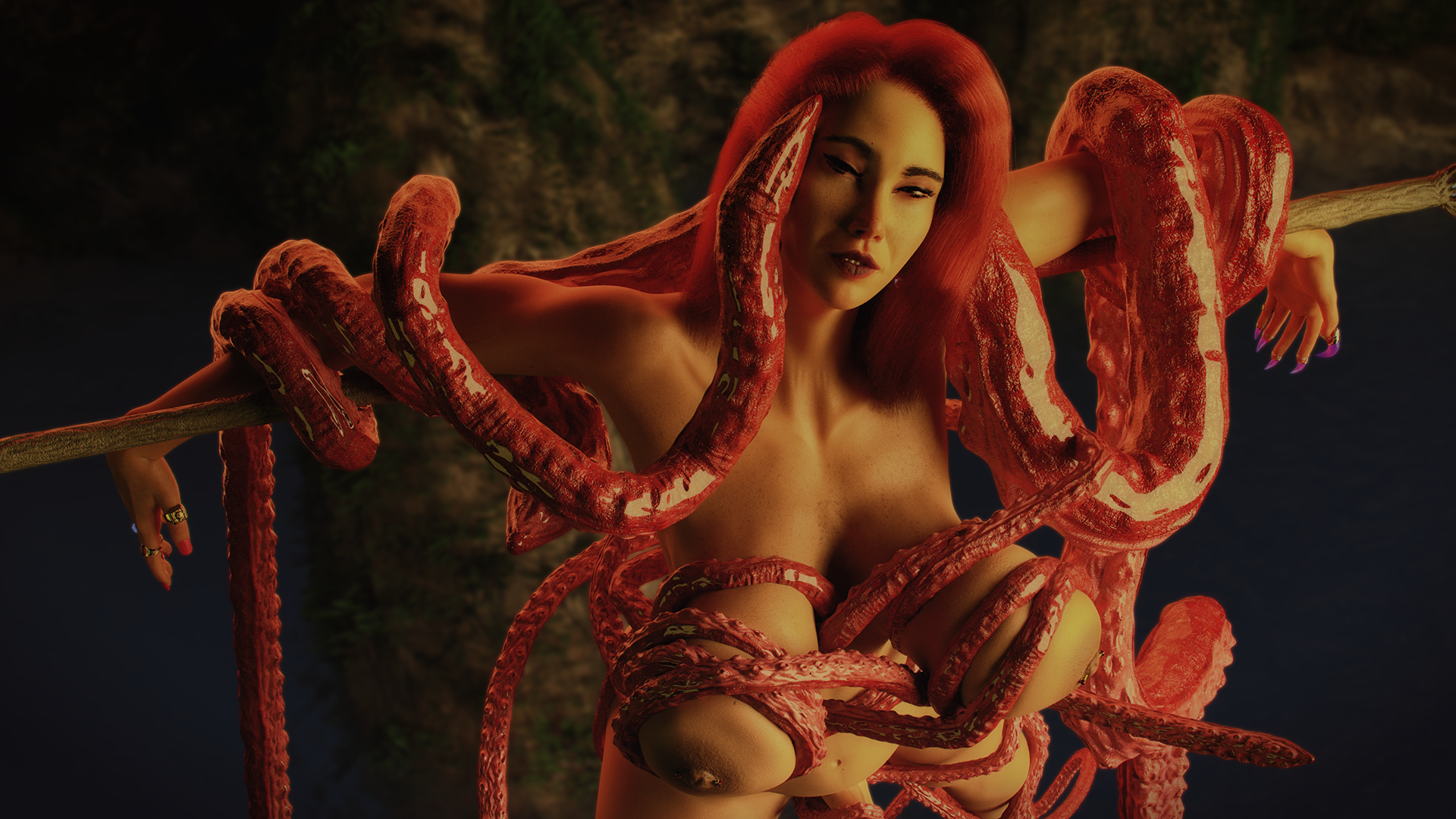 BRI AND TENTACLE MONSTER 9