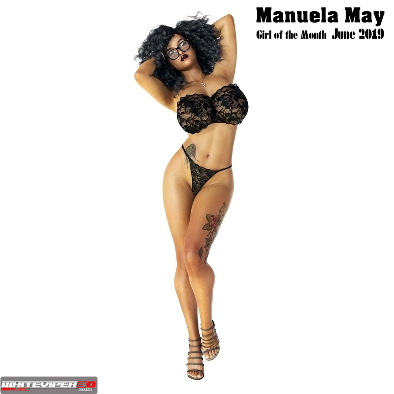 Girl of the Month -  Manuela May