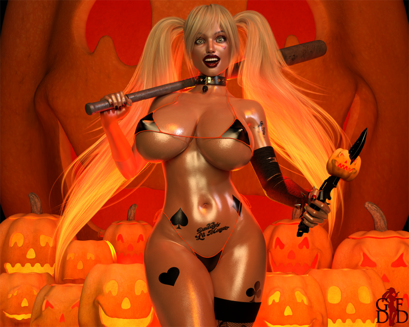 Harley's Pumpkin Patch Nightmare 2020 (Halloween Contest 2020)