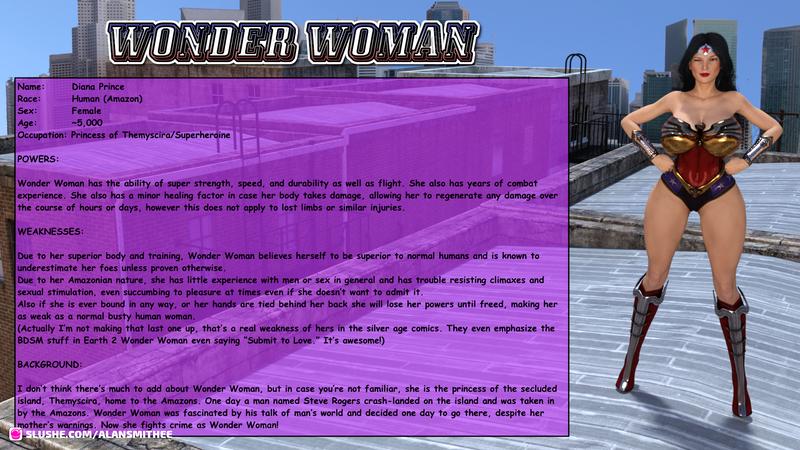 Wonder Woman Fact Sheet