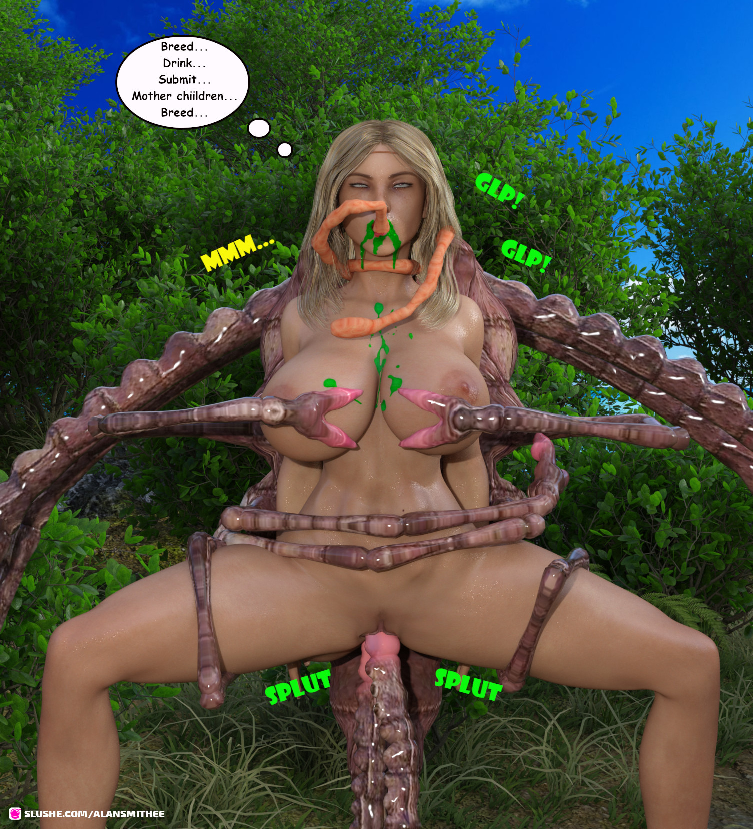 Jungle Girl Monster Breeding