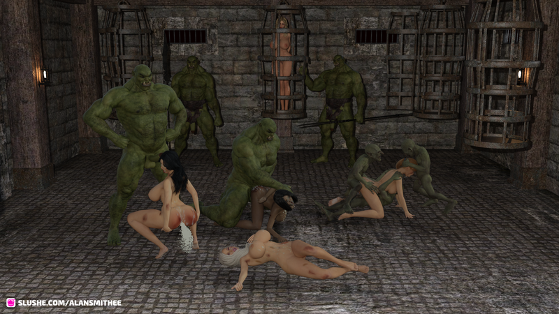 Heroine Orc Party
