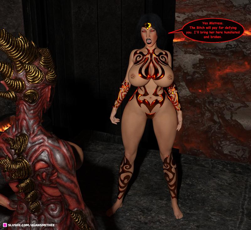 Wonder Woman: Demoness Part 2