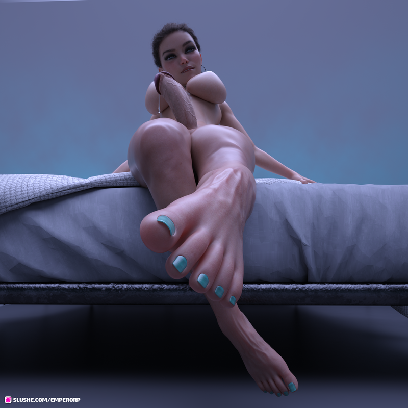 Foot of the bed