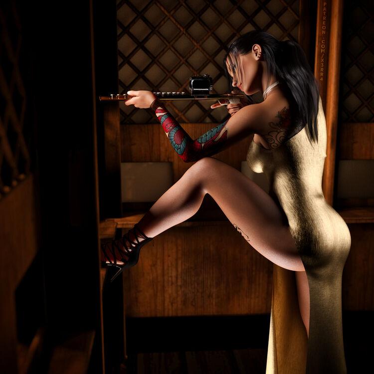 Flute Sniper