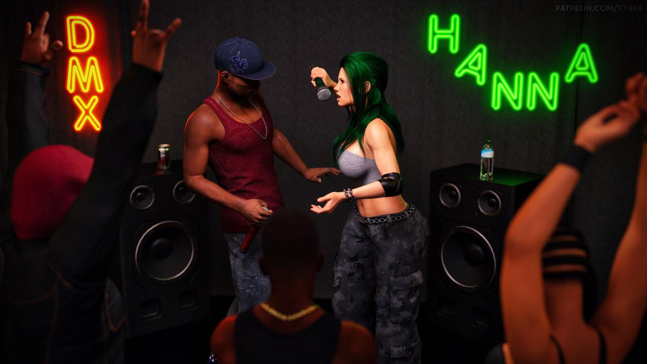 DMX vs. Hanna
