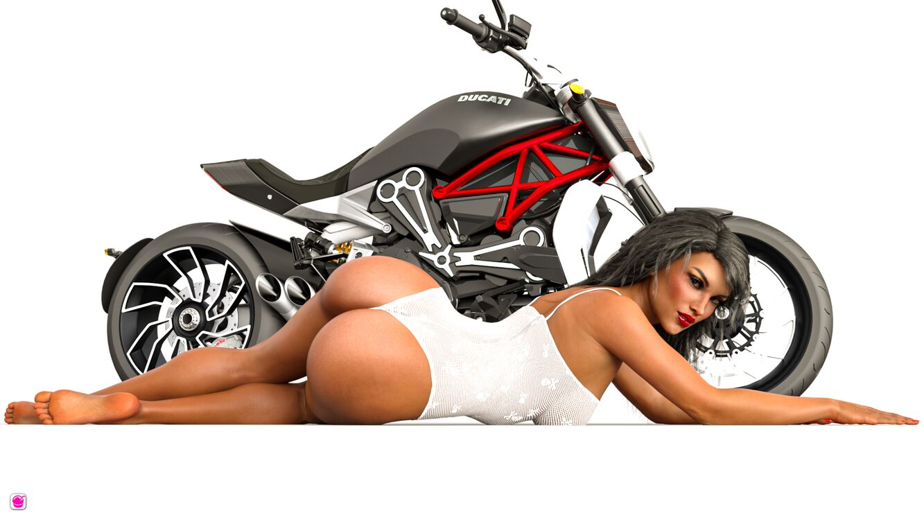 Ducati diavel fan art