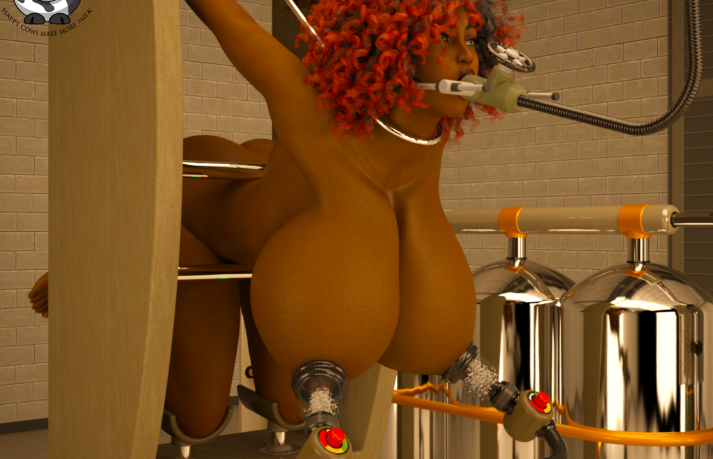 Milking Lydia 2 (Close Up)