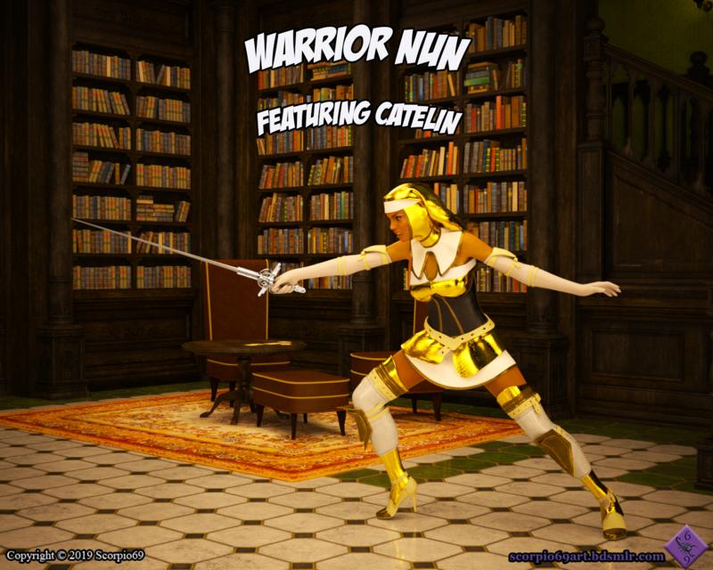 Warrior Nun Pg 0