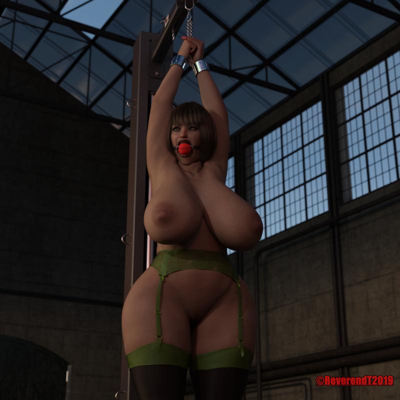 Big girl bondage.