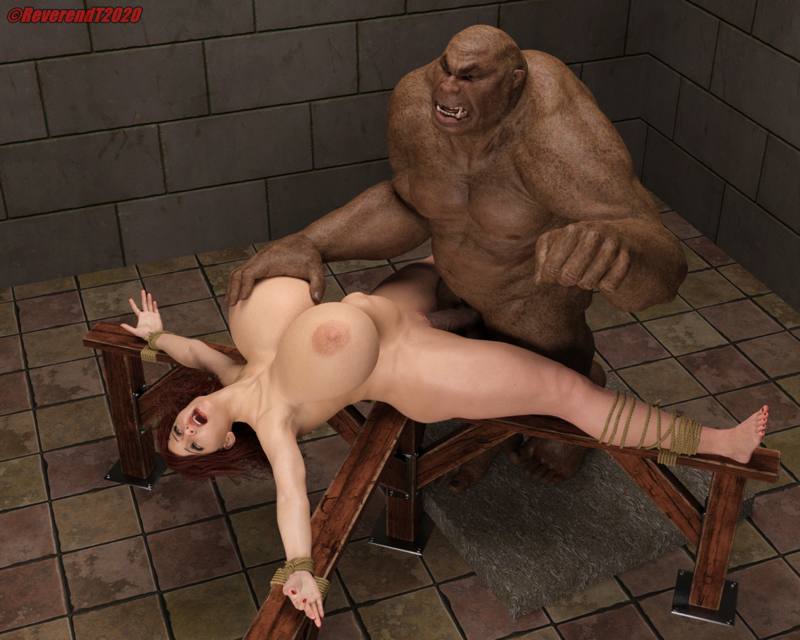 Ogre and the wench.