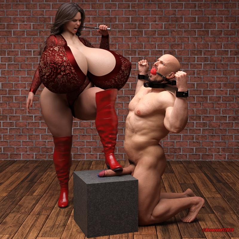 Biggirl puts her foot down.