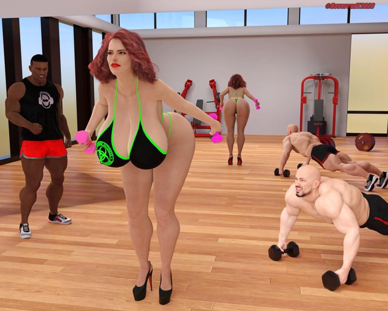 Bimbo Gym tease