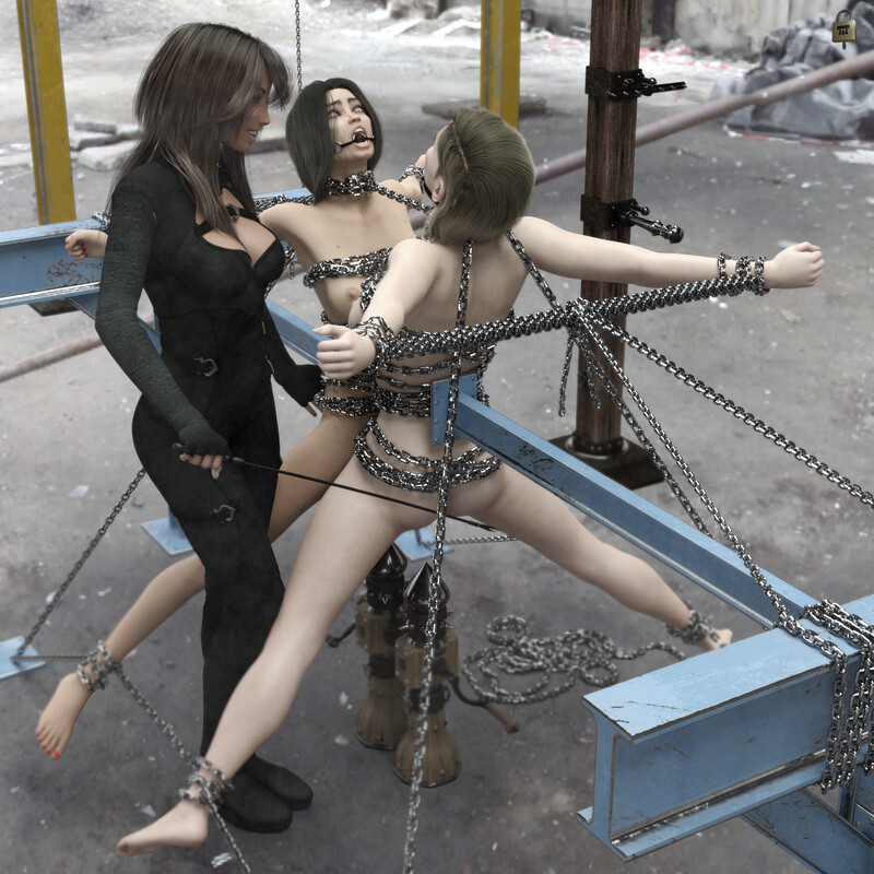 Chained Girls 15