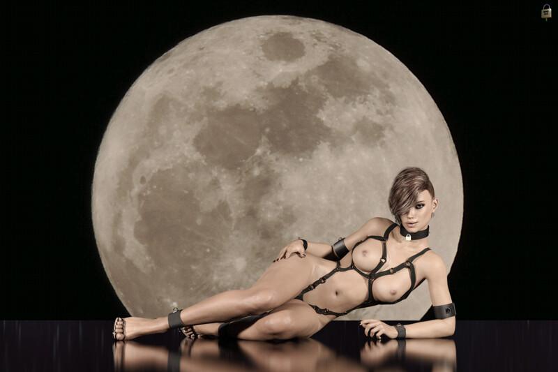 Samantha and the Moon