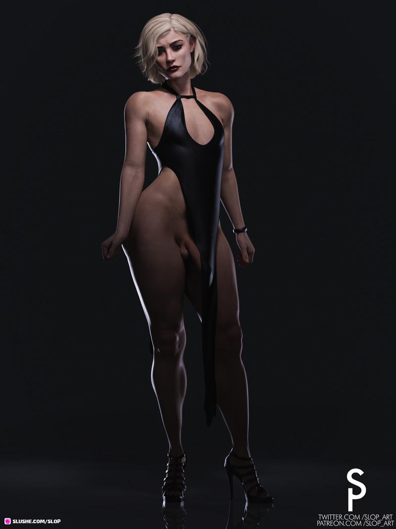 Vivienne Broughton - Slit Dress