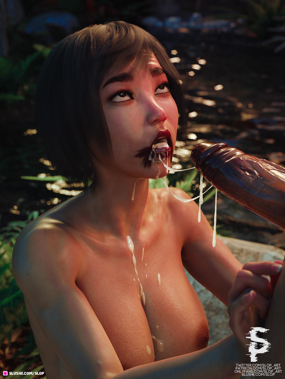 Yuna - Blowjob