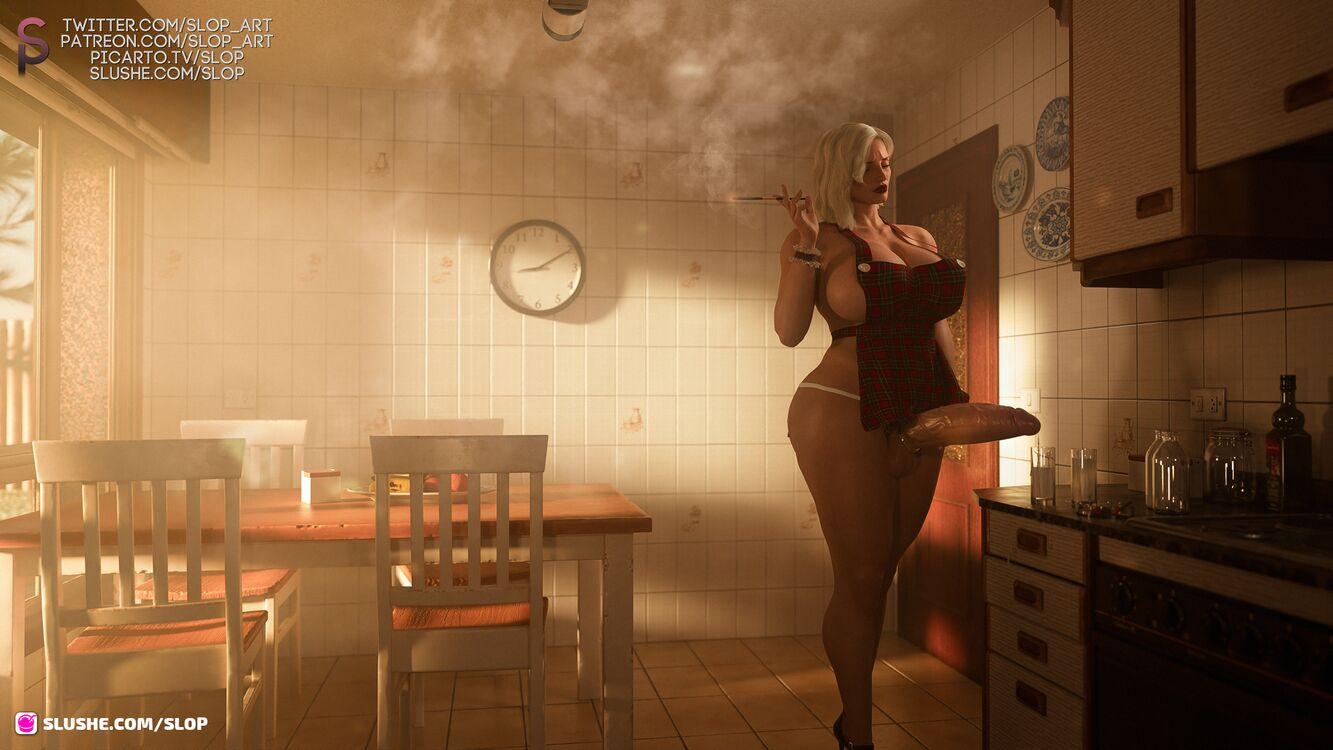 Claudia Broughton - 50's Kitchen