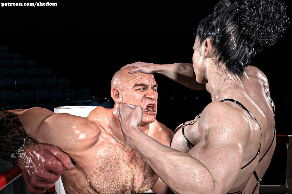 sia vs the big boss - mixed fighting