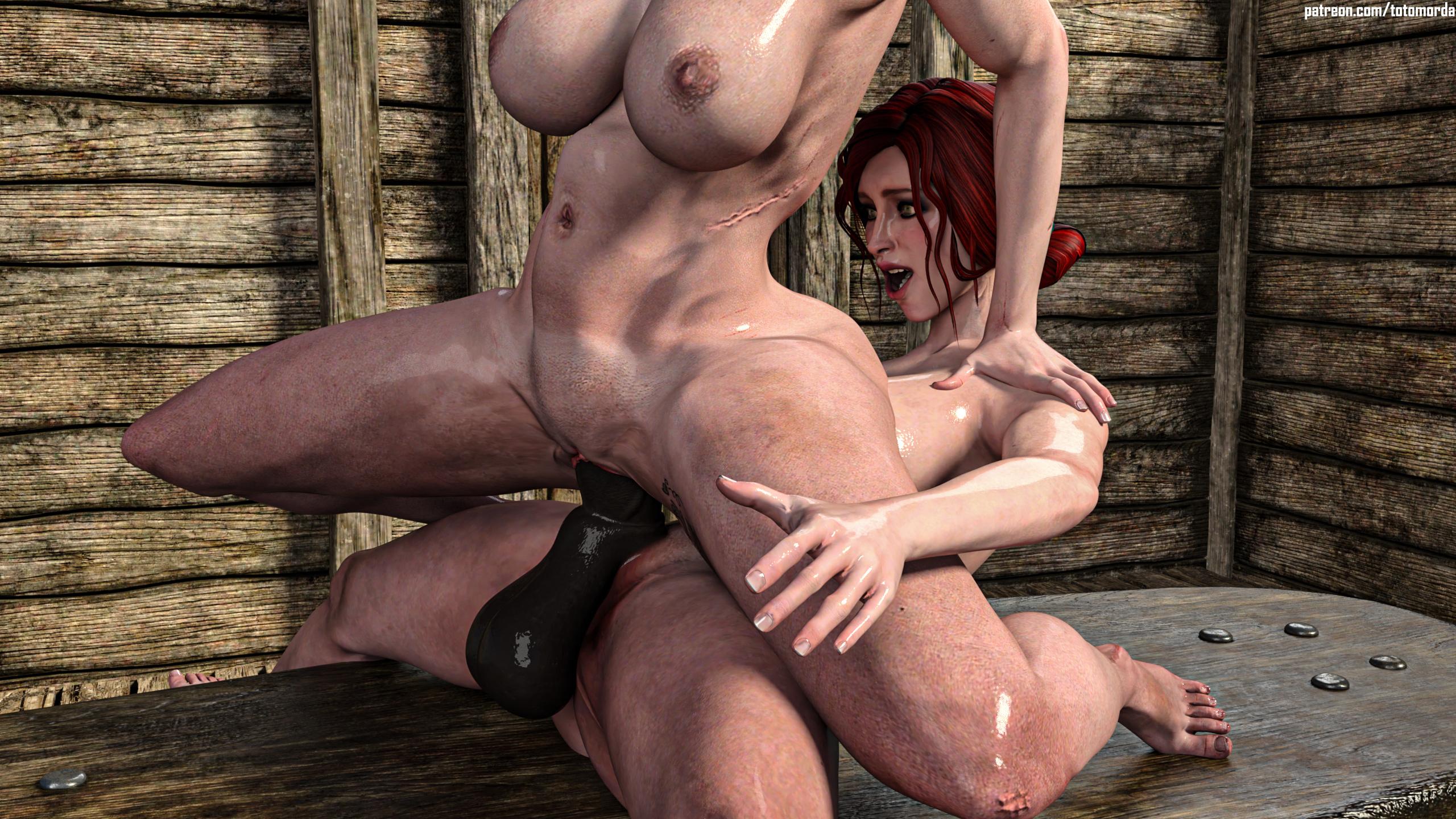 TRISS AND CIRI - FUTA X FEMALE