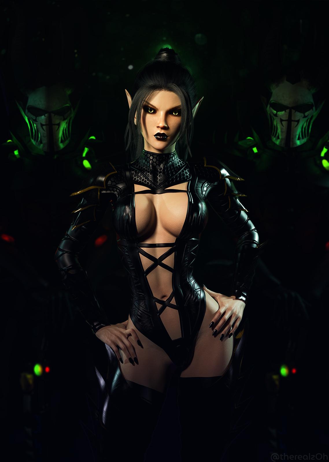 Dark Eldar Archon and Retinue