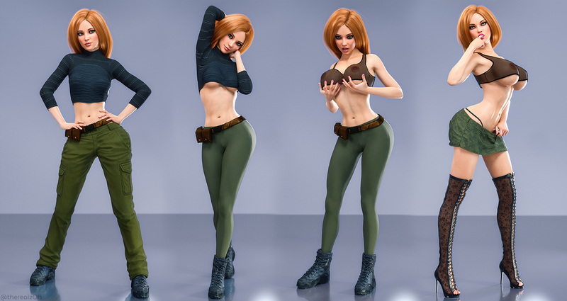 Kim Possible Bimbofication
