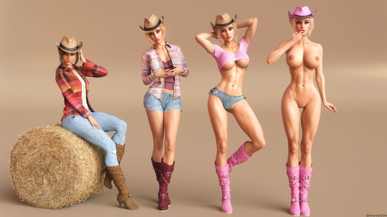 Cowgirl Bimbofication