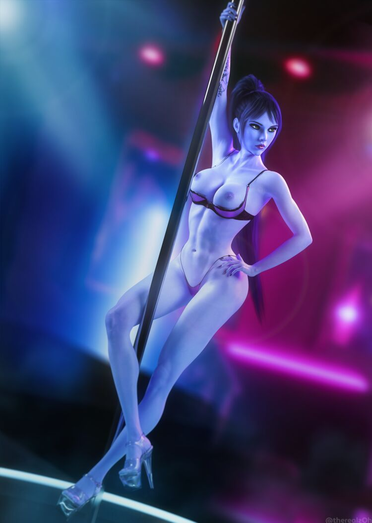 Widowmaker Stripping
