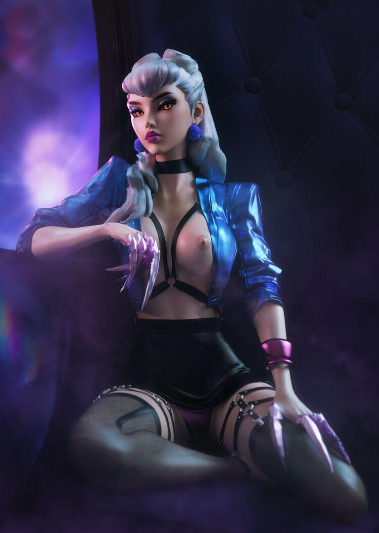 K/DA Evelynn: Queen