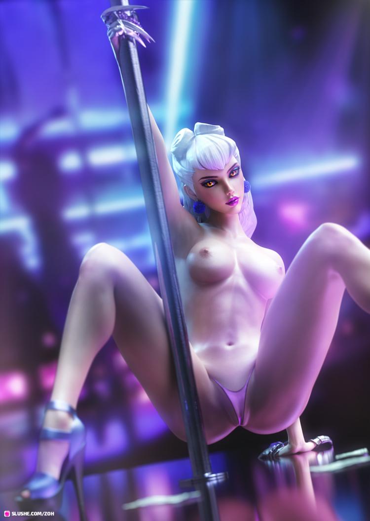 K/DA Evelynn Stripper