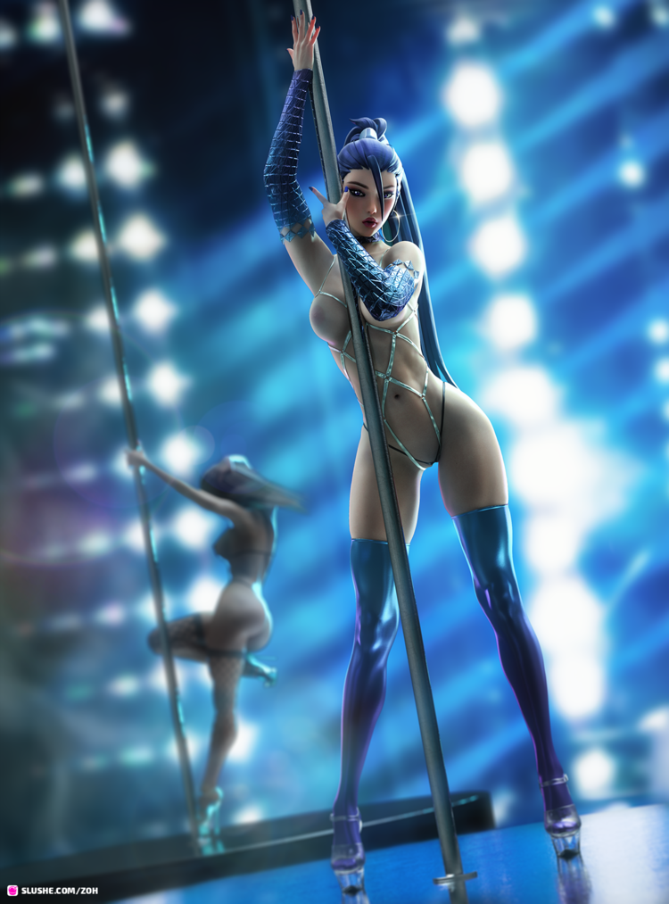 K/DA Kai'Sa Stripper