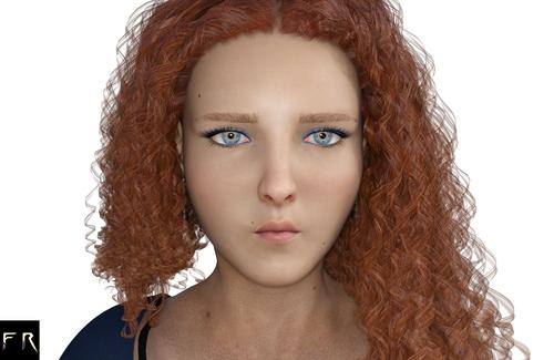 Portrait Sample: Irena (DAZ)