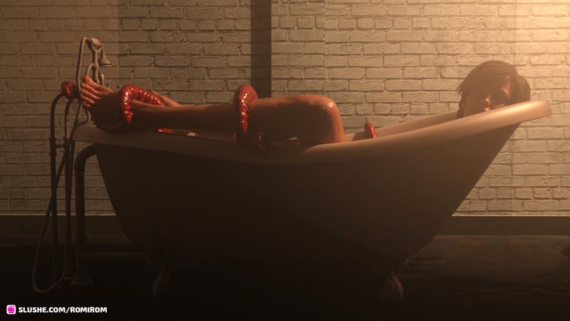Sleep in the tub