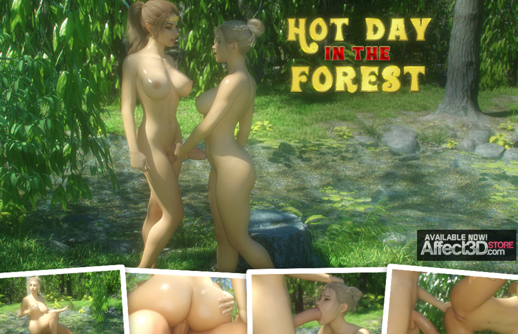 Hot Day In The Forest