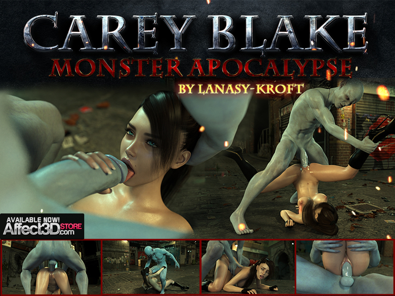 Carey Blake. Monster Apocalypse