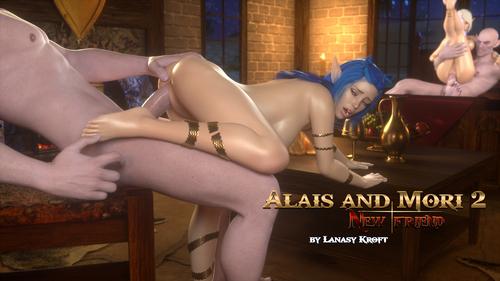 ALAIS AND MORI 2. NEW FRIEND