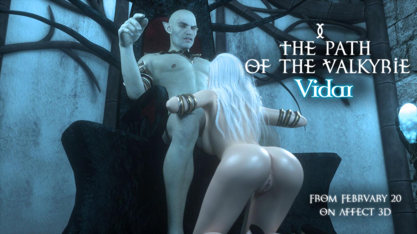 The path of the Valkyrie. Vidar