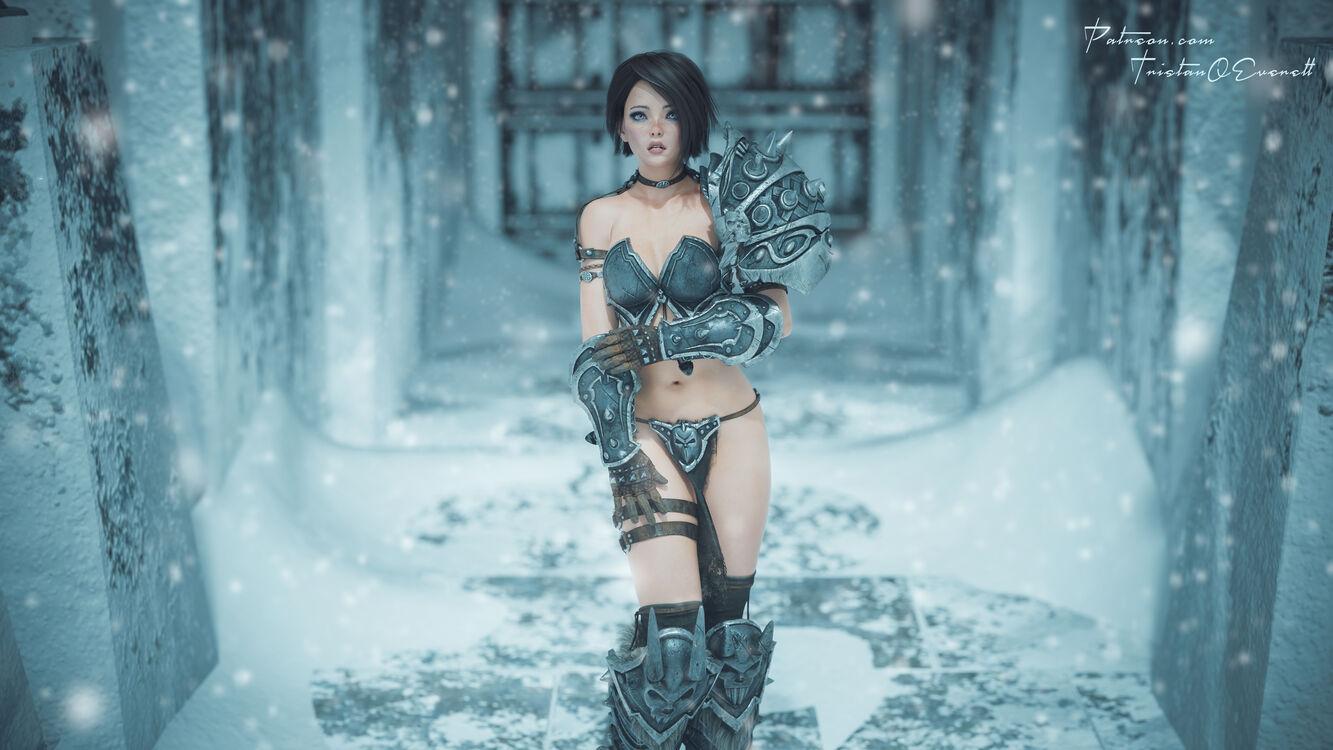 Emilia's bad armor day.