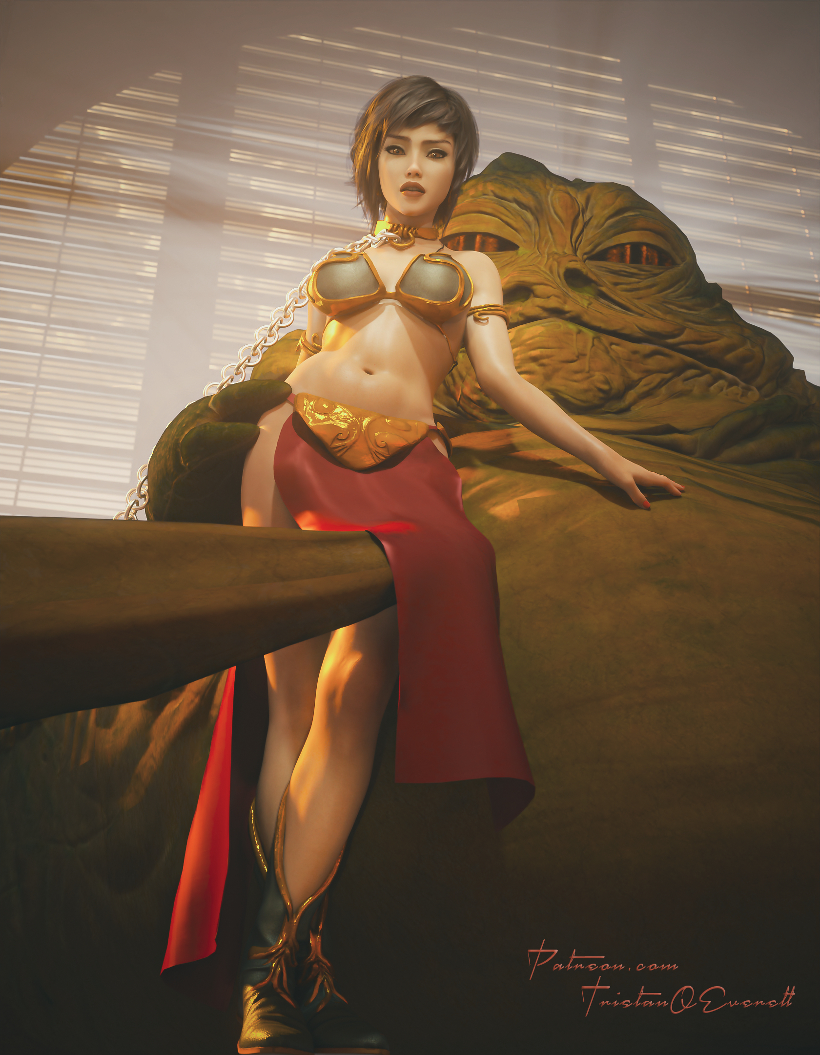 Jabba and the Butt