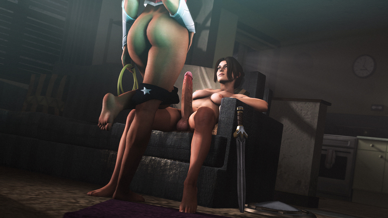 Lara is in for a Wonderful Time.