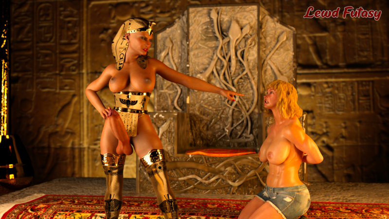 Egyptian queen captured thief NSFW