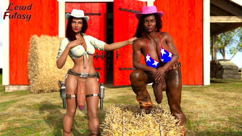 Cowgirls Leah and Ashley